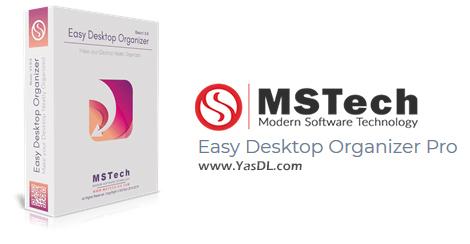 دانلود MSTech Easy Desktop Organizer Pro 1.16.49.0 - نرم افزار مرتبسازی دسکتاپ ویندوز