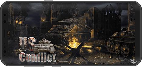 دانلود بازی US Conflict 1.8.20 - نبردهای آمریکا در جنگ جهانی دوم برای اندروید + دیتا