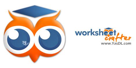 دانلود Worksheet Crafter Premium Edition 2020.1.7 Build 93 - نرم افزار طراحی محتوای آموزشی، تکالیف مدرسه و ...