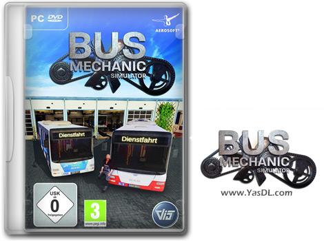 دانلود بازی Bus Mechanic Simulator - شبیهساز تعمیر اتوبوس برای کامپیوتر