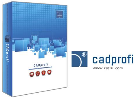 دانلود CADprofi 2021.07 Build 210221 x64 - پلاگین حرفهای طراحی معماری، برق، مکانیک و ...