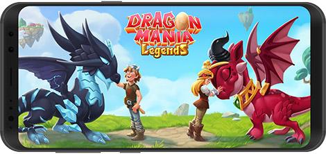 دانلود بازی Dragon Mania Legends 5.2.2a - پروش اژدها برای اندروید