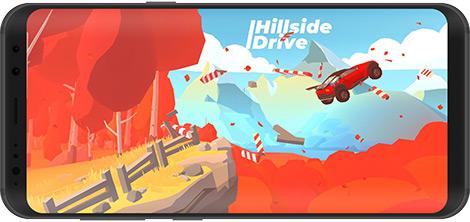 دانلود بازی Hillside Drive - Hill Climb 0.6.5 - چالش تپهنوردی با خودرو برای اندروید + نسخه بی نهایت
