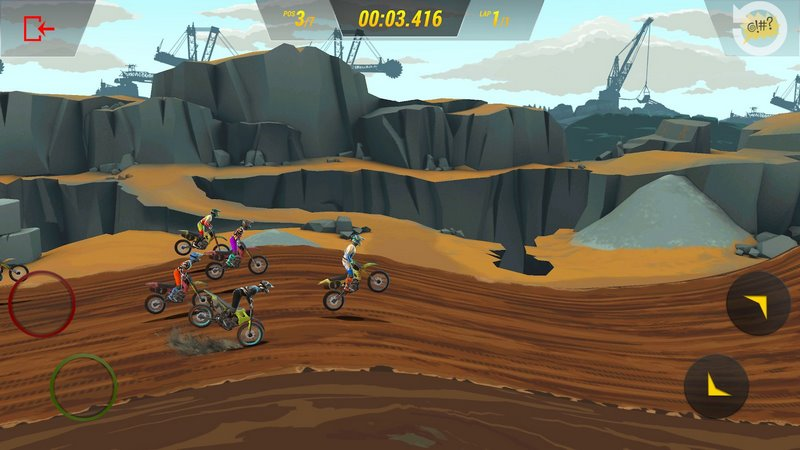 Mad Skills Motocross 3 0.5.1059 For Android + Infinite Version