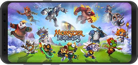دانلود بازی Monster Legends 9.4.11 - افسانههای هیولا برای اندروید + نسخه بی نهایت