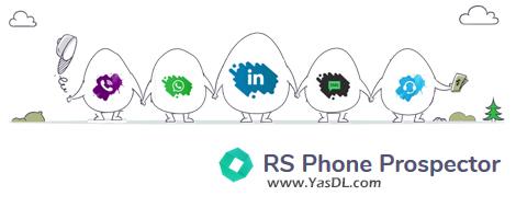 دانلود RS Phone Prospector 3.44 - جمعآوری شماره و اطلاعات تماس از شبکههای اجتماعی