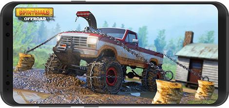 دانلود بازی Spintrials Offroad Driving Games: 2020 new games 4.8 - رانندگی آفرود برای اندروید + نسخه بی نهایت