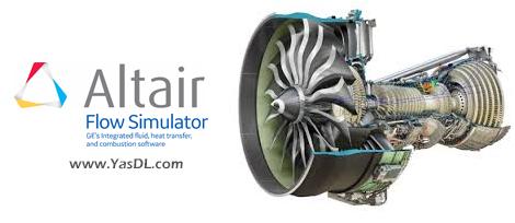 دانلود Altair Flow Simulator 19.1.2 x64 - نرم افزار شبیهسازی یکپارچه جریان و انتقال گرما