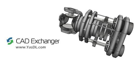 دانلود CAD Exchanger GUI 3.9.2 Build 14270 x64 - مشاهده و تبدیل مدلهای سهبعدی