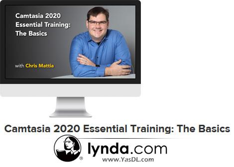 دانلود آموش کمتازیا 2020: مقدماتی - Camtasia 2020 Essential Training: The Basics - Lynda