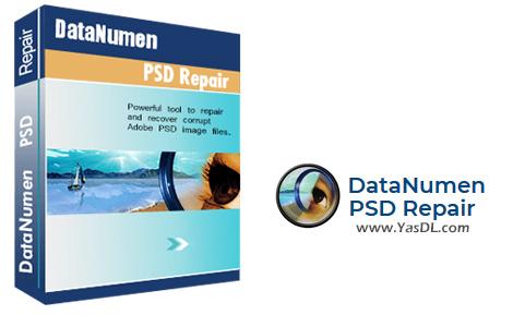 دانلود DataNumen PSD Repair 2.1.0 - نرم افزار تعمیر فایلهای آسیب دیده PSD