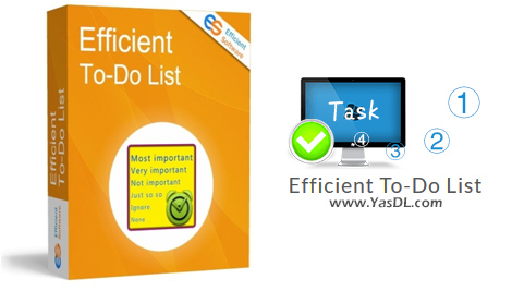 دانلود Efficient To-Do List 5.60 Build 559 - نرم افزار مدیریت حرفهای اقدامات