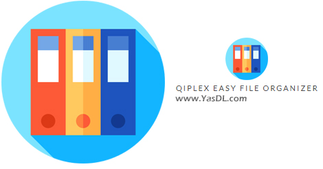 دانلود Qiplex Easy File Organizer 2.7.0 - نرم افزار سازماندهی فایلها و فولدرها در ویندوز