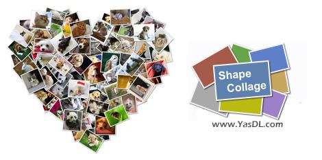 دانلود Shape Collage Pro 3.1 - نرم افزار ساخت تصاویر کلاژ