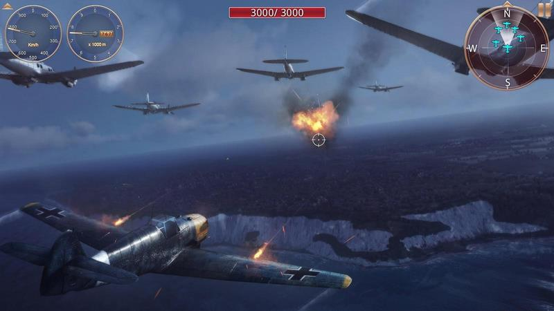 Sky Gamblers: Storm Raiders 2 1.0.0 For Android + Data