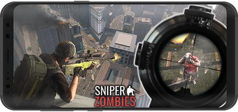 دانلود بازی Sniper Zombies: Offline Game 1.16.0 - شلیک به زامبیها برای اندروید + نسخه بی نهایت