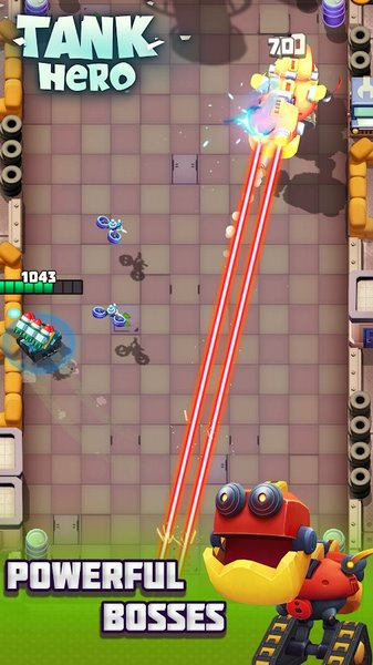 Tank Hero 1.5.6 - Hero Tank For Android + Infinite Version