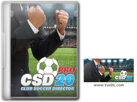 Club Soccer Director PRO 2020 - 2020 Football Club Management For PC
