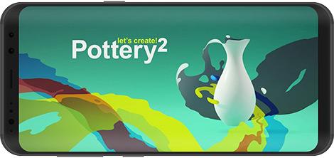 دانلود بازی Let's Create! Pottery 2 1.37 - شبیهساز سفالگری 2 برای اندروید + نسخه بی نهایت