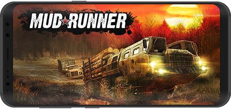 دانلود بازی MudRunner 1.0.1.7410 - رانندگی ماشین سنگین برای اندروید + دیتا + نسخه بی نهایت
