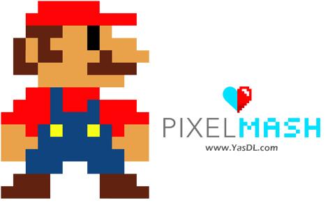 دانلود Nevercenter Pixelmash 2020.0.0 x64 - نرم افزار ترسیم آسان پیکسل آرت
