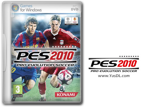 دانلود بازی Pro Evolution Soccer 2010 برای PC + کرک RELOADED