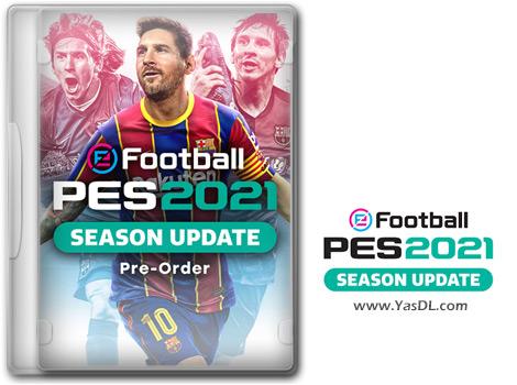 دانلود تریلر رسمی بازی eFootball PES 2021