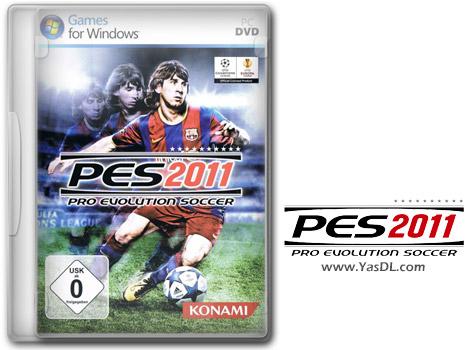 دانلود بازی Pro Evolution Soccer 2011 برای PC + کرک RELOADED