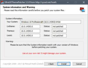 UltraUXThemePatcher.cover1  300x233 - دانلود UltraUXThemePatcher 3.8.1 - فراهمسازی امکان نصب تمهای غیررسمی در ویندوز