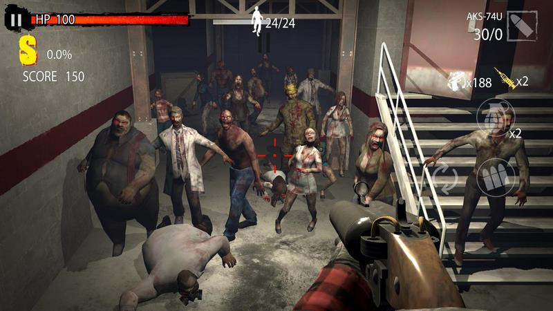 Zombie Hunter D-Day Game 1.0.403 For Android + Infinite Version
