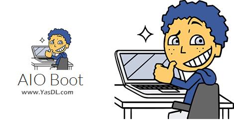 دانلود AIO Boot 0.9.9.2 - نرم افزار ساخت دیسک بوتیبل USB/HDD