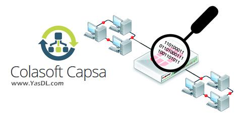 دانلود Colasoft Capsa Enterprise 13.0.1.13110 - نرم افزار آنالیز شبکه و ردیابی بستهها