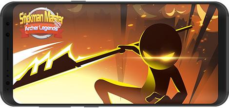 دانلود بازی Stickman Master: Archer Legends 2.2.0 - آدمکهای کماندار برای اندروید + نسخه بی نهایت