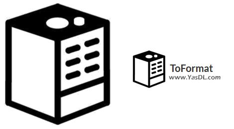 دانلود ToFormat 1.1 - نرم افزار فرمت آسان انواع حافظه فلش و هارد
