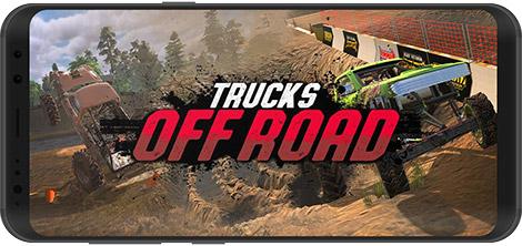 دانلود بازی Trucks Off Road 1.2.19572 - رانندگی آفرود برای اندروید + نسخه بی نهایت