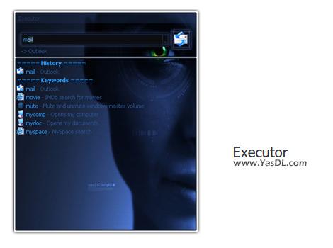 دانلود Executor 1.0.1 - لانچر جدید، زیبا و قدرتمند برای ویندوز