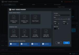 Fast Video Maker.cover1  300x210 - دانلود Fast Video Maker 1.0.0.2 - نرم افزار ساخت سریع فیلم از روی عکس یا نوشته