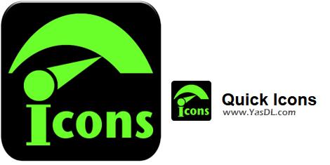 دانلود Neonway QuickIcons 1.9.2 - نرم افزار طراحی آیکون