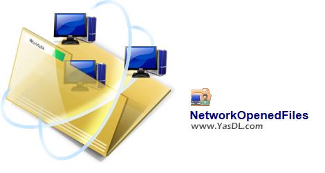 دانلود NetworkOpenedFiles 1.35 x86/x64 - مشاهده دستیابی کاربران به فایلها در شبکه