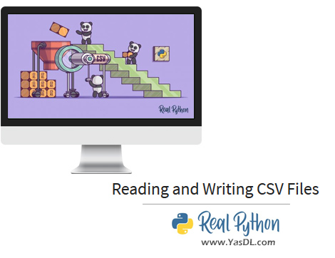 دانلود آموزش ریل پایتون - جلسه پنجم: خواندن و نوشتن فایل سیاسوی - Reading and Writing CSV Files - Real Python