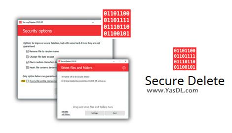دانلود Secure Delete Professional 2020.01 - حذف دائم و امن اطلاعات