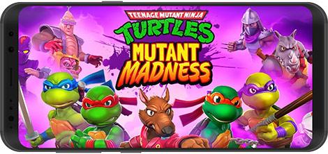 دانلود بازی TMNT: Mutant Madness 1.24.1 - لاکپشتهای نینجا: دیوانگی جهشیافته برای اندروید + نسخه بی نهایت