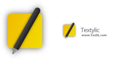 دانلود Textylic 1.1 - نرم افزار یادداشت برداری زیبا برای ویندوز