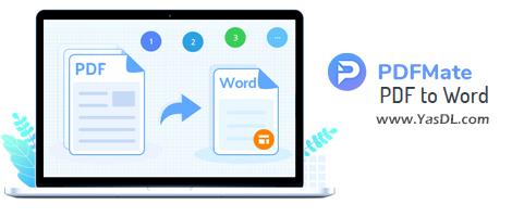 دانلود pdfmate PDF to Word 1.0.0 - نرم افزار تبدیل فرمت پیدیاف به ورد