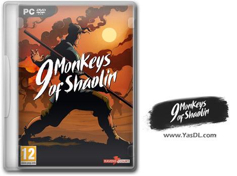 دانلود بازی  9 Monkeys of Shaolinبرای PC