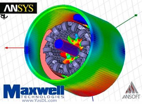 دانلود Ansys maxwell - شبیه سازی میدان الکترومغناطیسی با فرکانس پایین