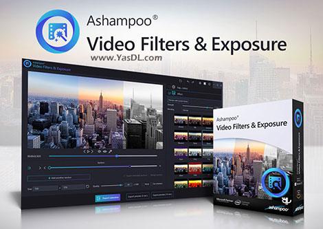 دانلود Ashampoo Video Filters and Exposure - نرم افزار افکت گذاری روی فیلم