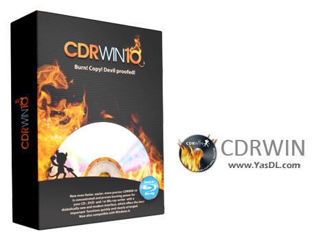 دانلود CDRWIN 10.0.5312.24939 - نرم افزار رایت آسان CD/DVD