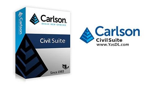 دانلود Carlson Civil Suite - نرم افزار مهندسی عمران