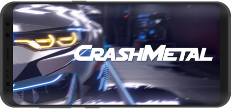 دانلود بازی CrashMetal 1.0.8 - هیجان اتومبیلرانی برای اندروید + نسخه بی نهایت